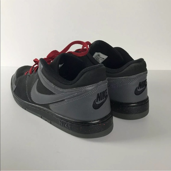 Nike Shoes Air Force 1 Sneakers Black Red Splatter 2014 Poshmark